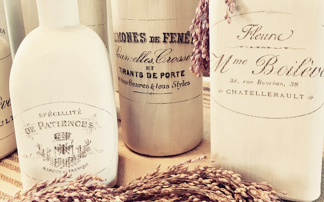 French Bottles: Something Old from Something New