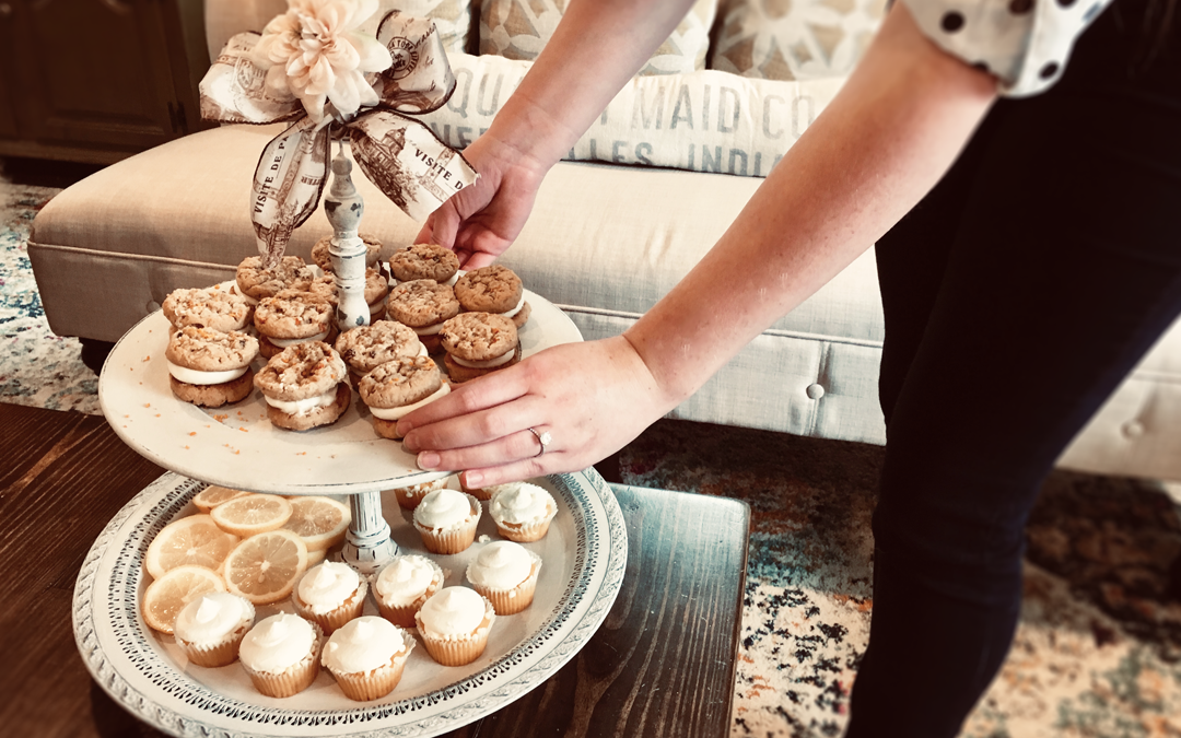 Create a Vintage Tiered Stand
