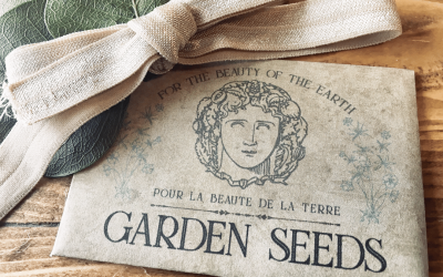French-Inspired Seed Packets