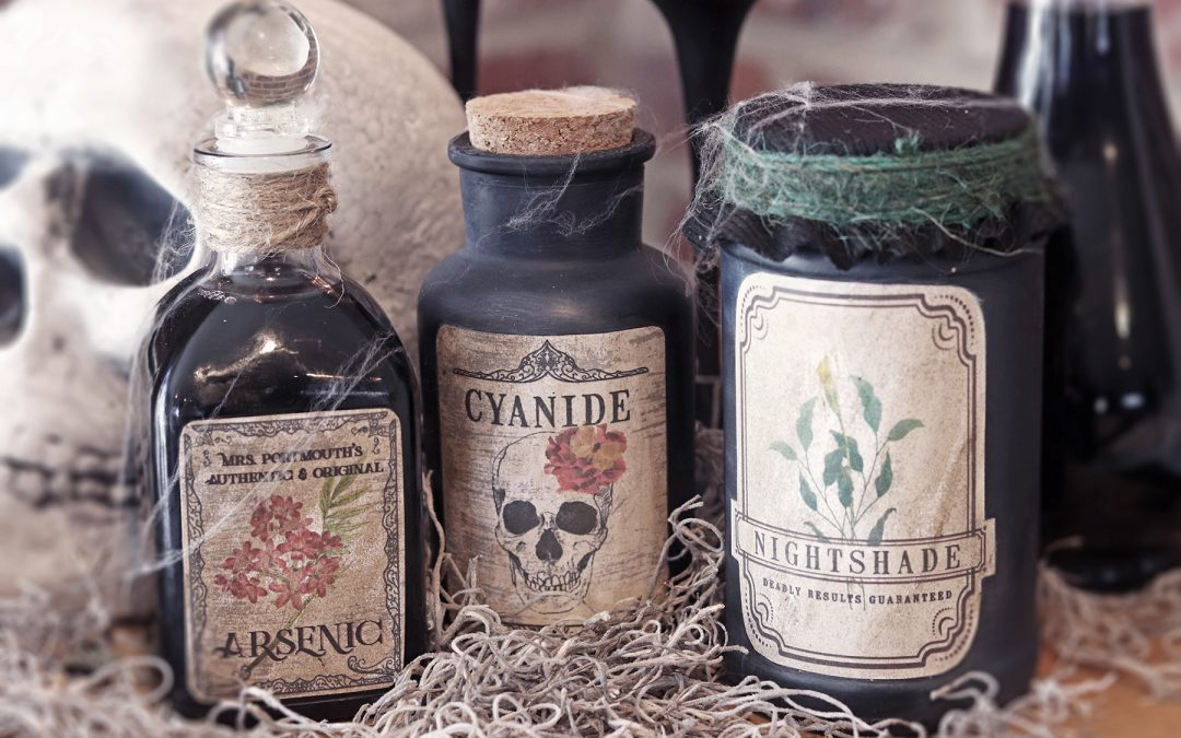 Spooky Halloween Potion Bottles