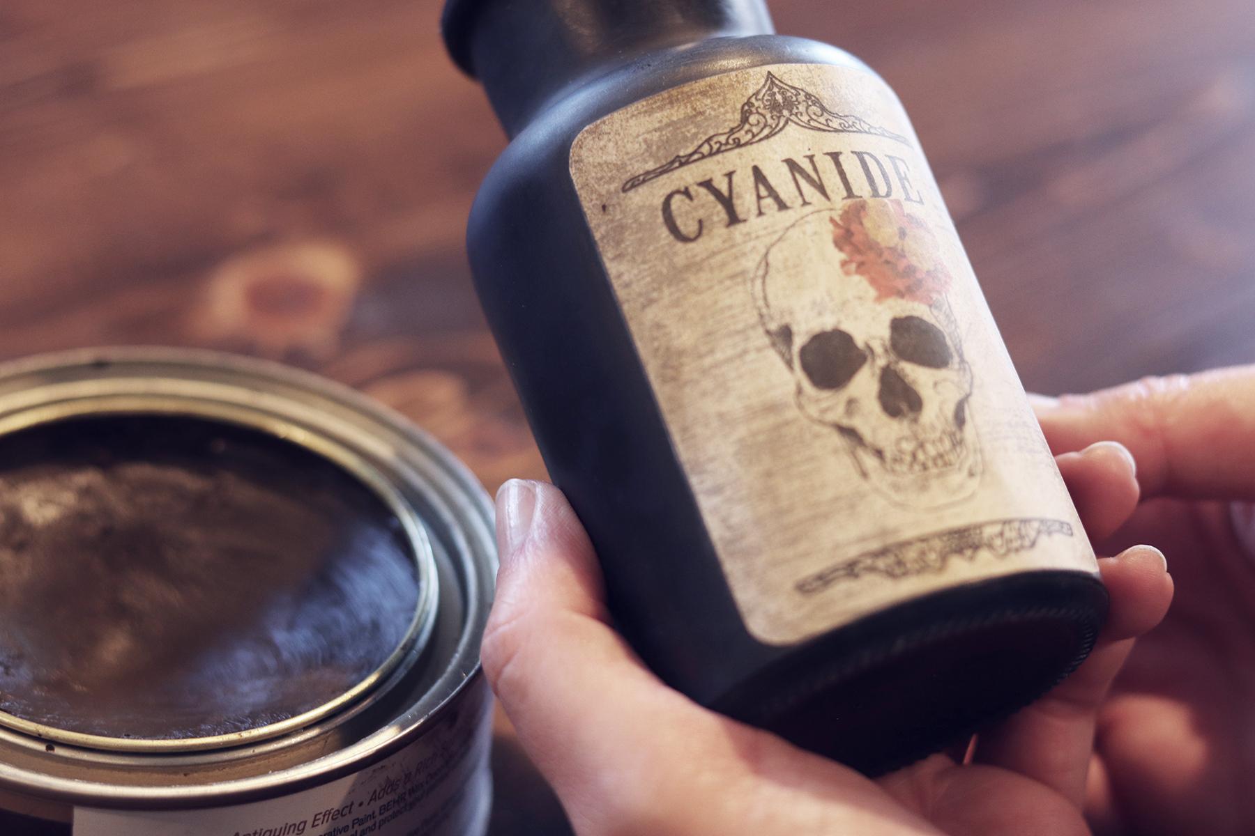 Boroughfare Waxed Potion Bottle