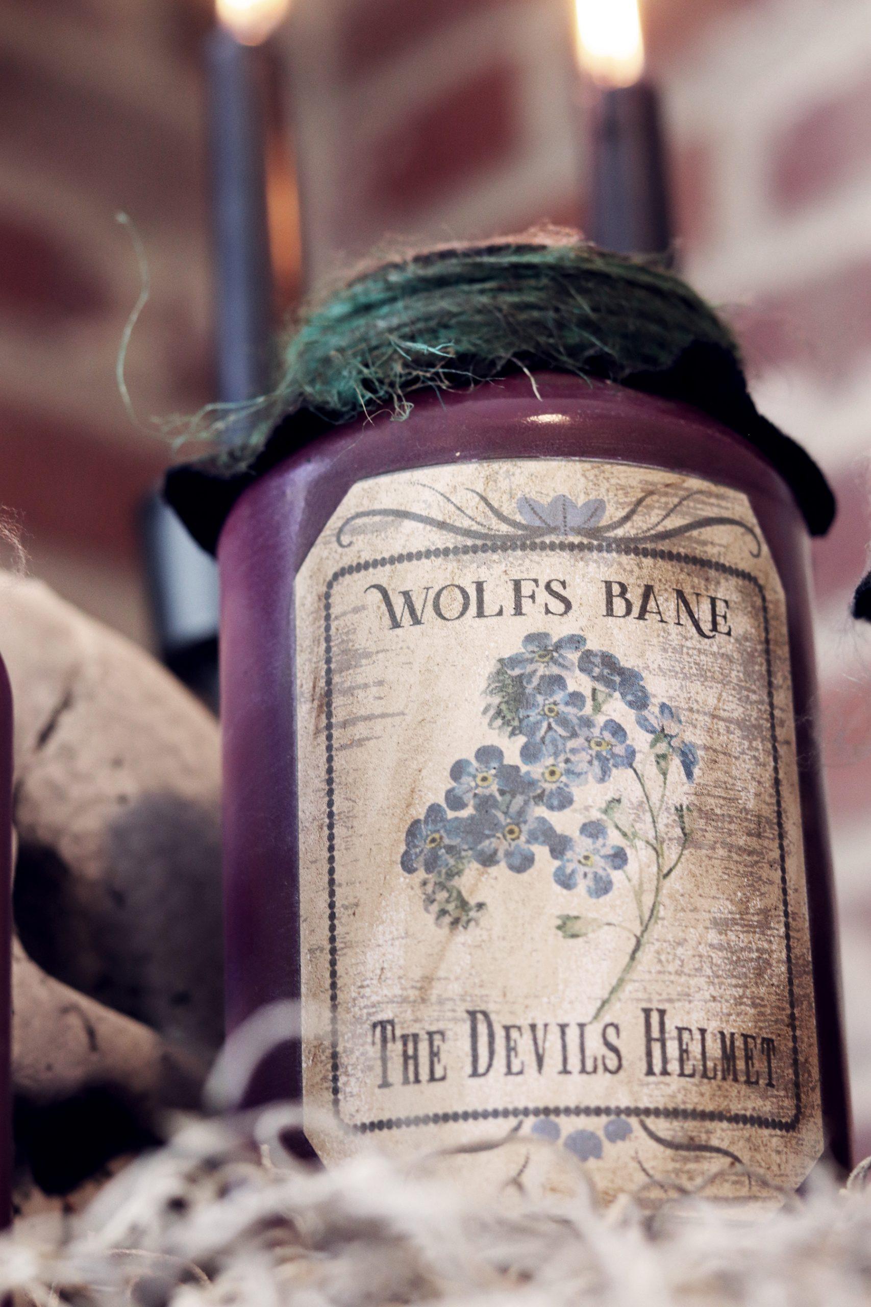 Boroughfare Wolfs Bane Potion Bottle