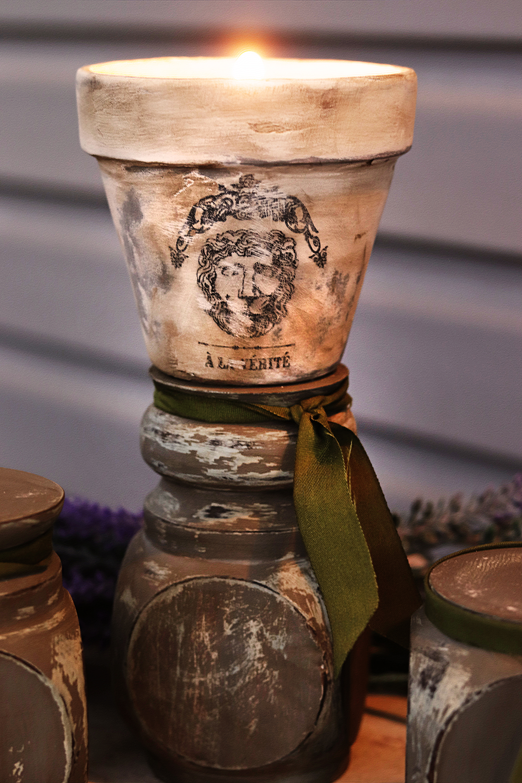 Boroughfare Home DIY Old World French Inspired Candle