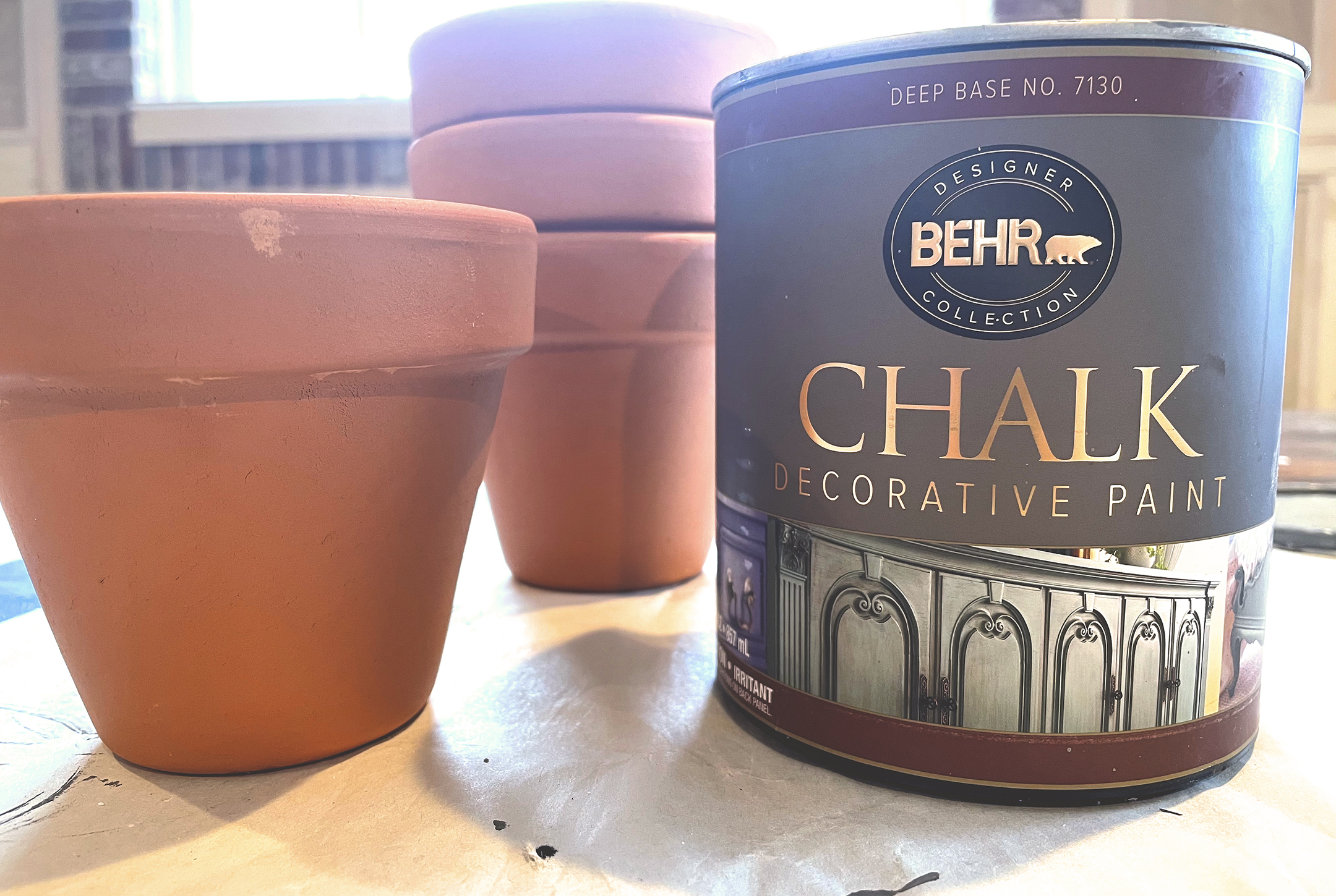 Boroughfare Home French Inspired Candles with Terra Cotta Pots