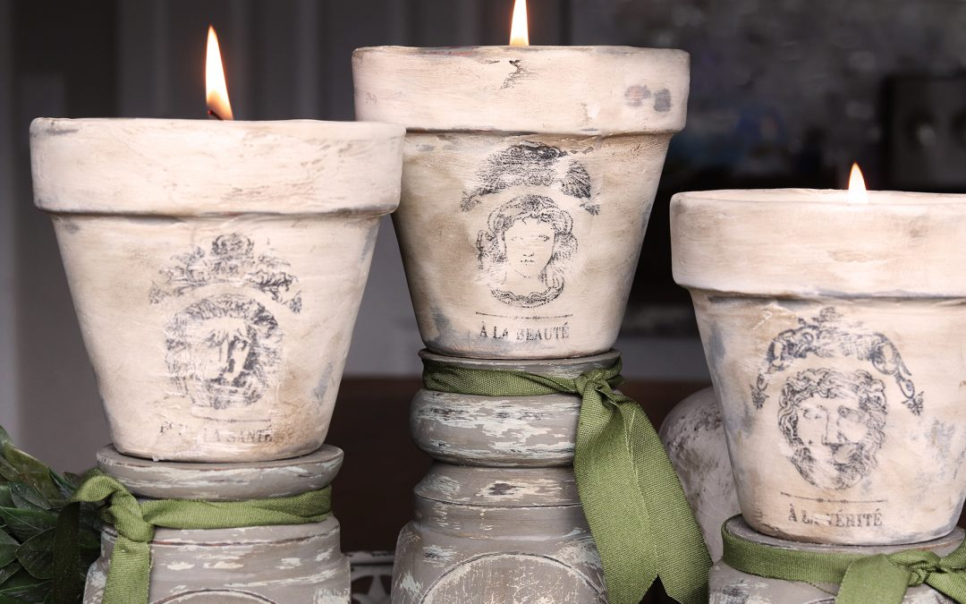 French-Inspired Candles with Beeswax