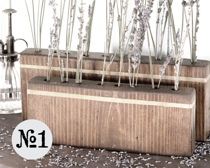 Boroughfare Home Vintage Lavender Sets Option #1 with Gold Strip
