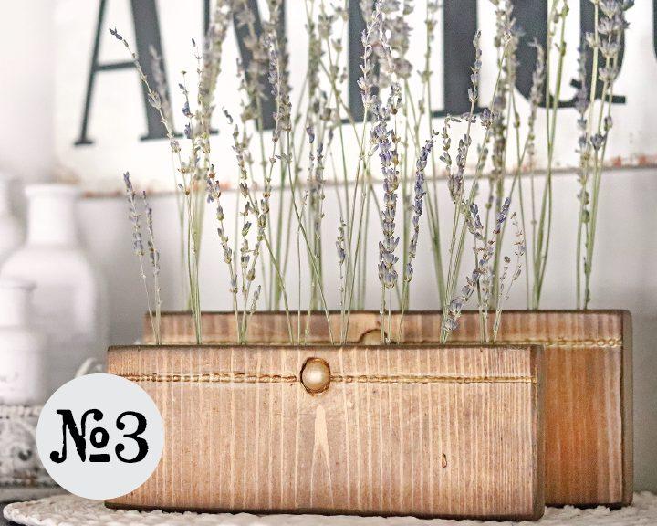 Boroughfare Home Vintage Lavender Set Option #3 with Gold Button
