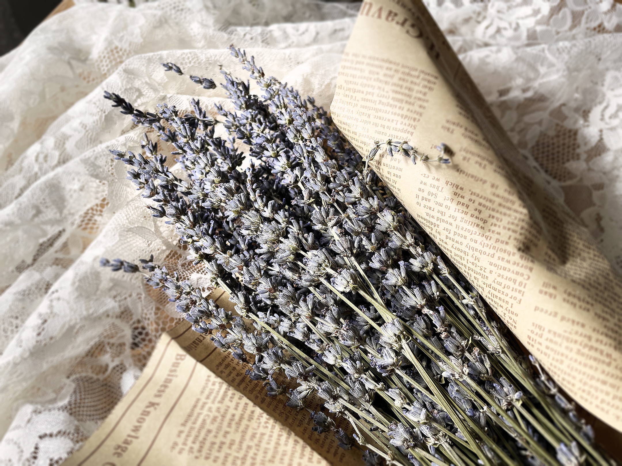 Boroughfare Home Vintage Lavender DIY Project with Dried Lavender