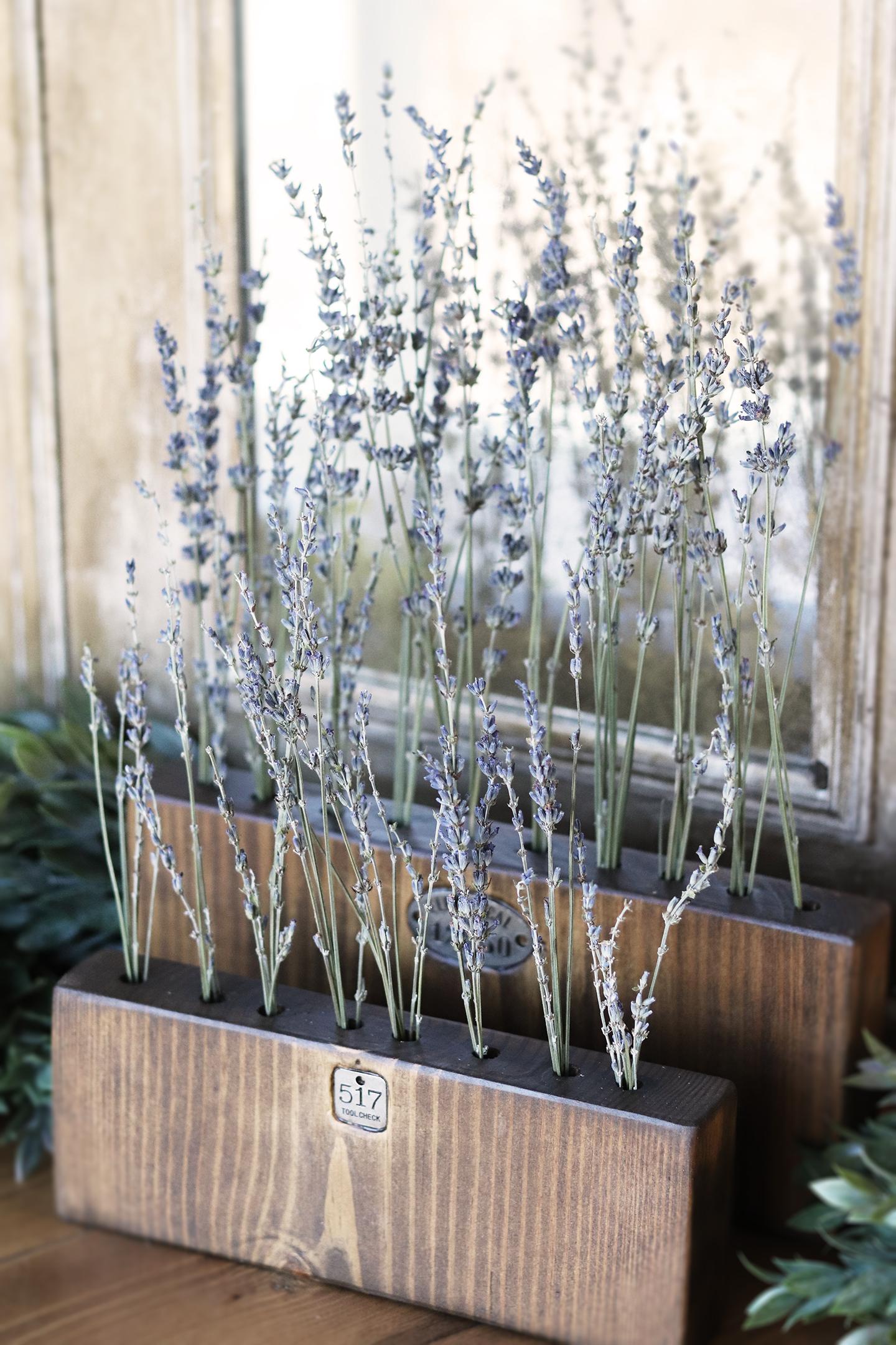 Boroughfare Home Vintage Lavender Set with Metal Number Decals SIDE