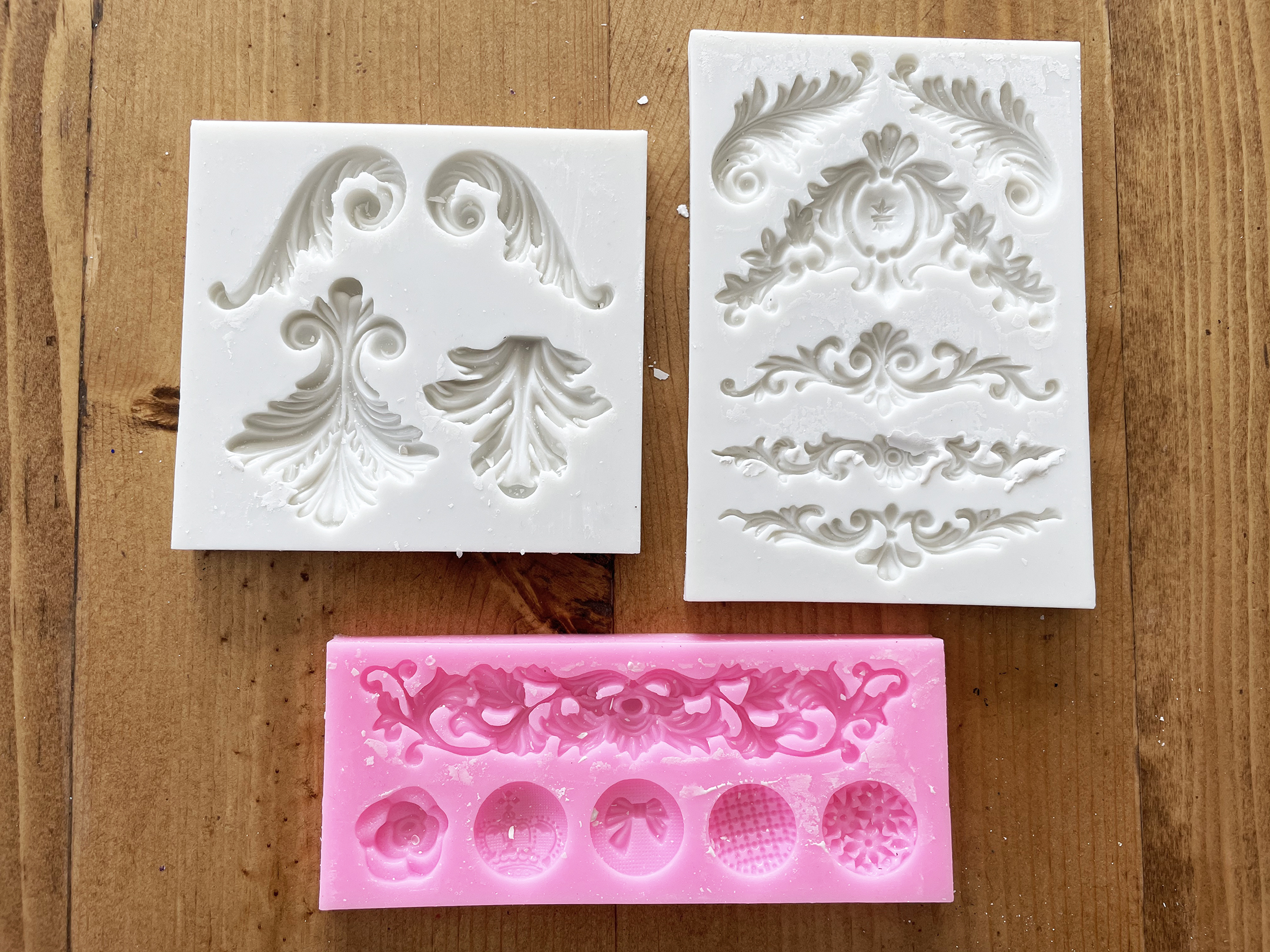 Boroughfare Home Vintage Lavender Sets with Silicone Molds