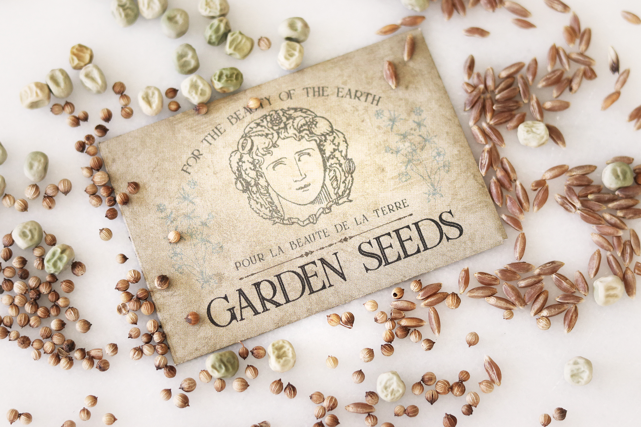 Boroughfare Home Garden Post French Seed Packet
