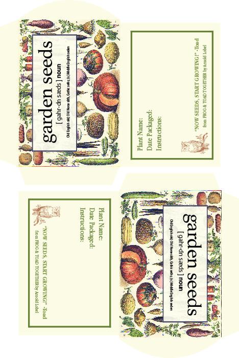 Boroughfare Home Garden Seeds Packet FINAL